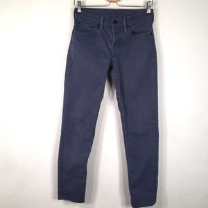 Levis 511 Commuter Jeans 28 32 Button Fly Blue